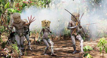 Papua New Guinea Goroka show