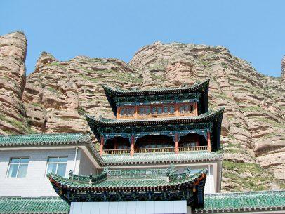 A Bingling Monastery in Langzhou