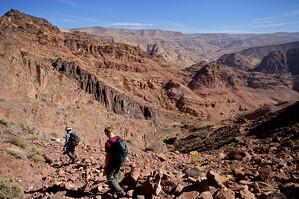 Hike through the Dana Biosphere Reserve