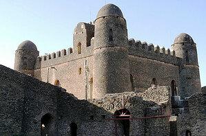 Explore Gondar Castle