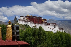 The impressive Potala Palace