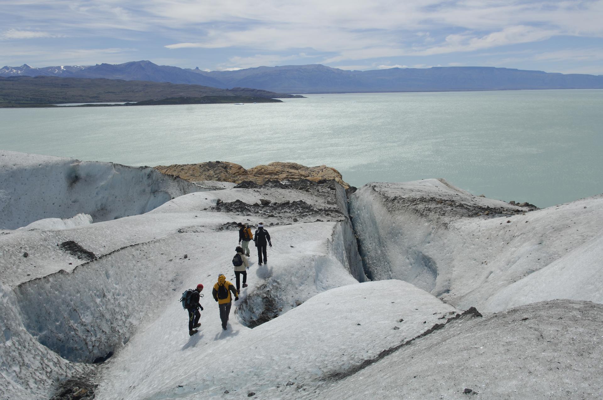 Viedma Glacier hiking