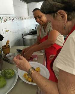 Colombian cooking class