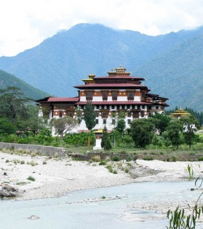 Building in Haa Valley, Bhutan