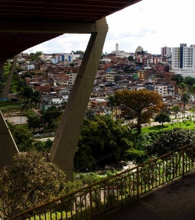Bridge over Pereira, Colombia