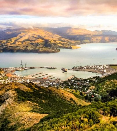 Lyttelton Harbour, Christchurch, New Zealand