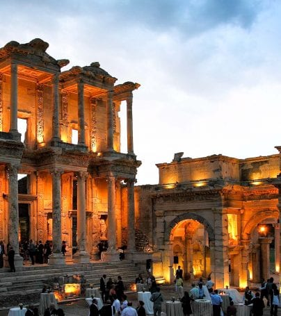 Celses Library in Ephesus, Greece