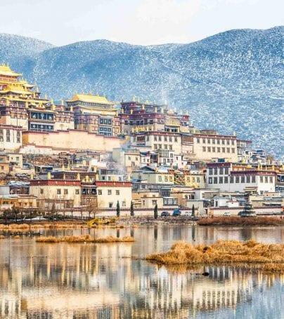 Ganden Sumsteling Monastery, Tibet