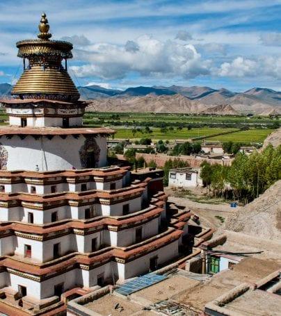 Temple in Gyantse, Tibet