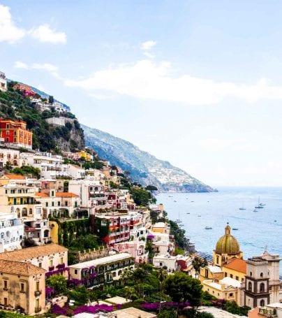 Hillside town of Positano, Italy