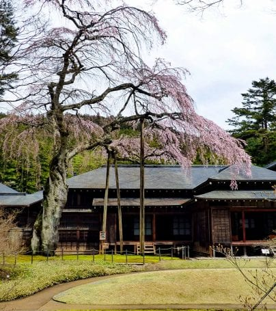 Imperial Villa in Nikko, Japan