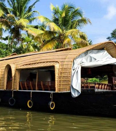 River boat in Cochin, India