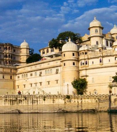 Lake palace in Udaipur, India