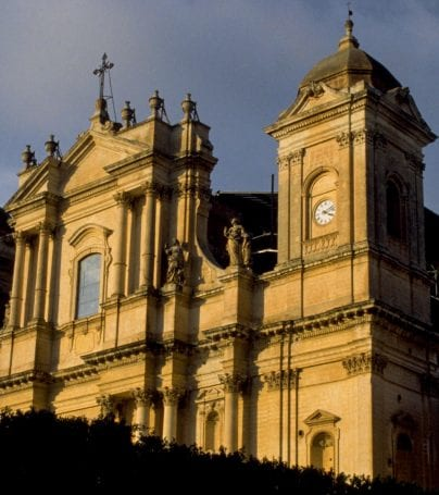 St. Nicholas Cathedral in Noto, Italy