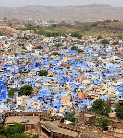 Aerial view of Jodhpur, India