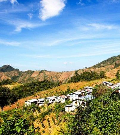 Landscape of Kalaw, Myanmar