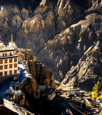 Lamayuru Monastery in India
