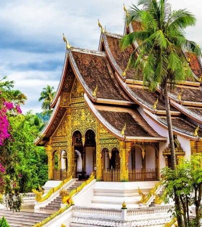 Wat Xieng Thong temple in Luang Prabang, Laos
