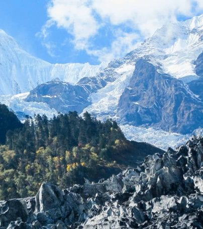 Mingyong Glacier, China