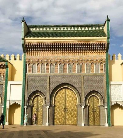 Fes el Bali gate, Morocco