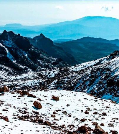 Mount Kenya landscape