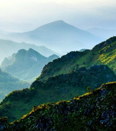Mountains of Chiang Do, China