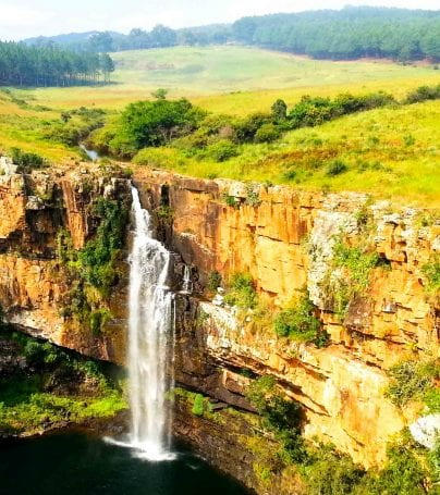 Waterfall in Mpumalanga province, South Africa