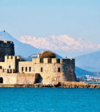 Castle in Nafplion, Greece