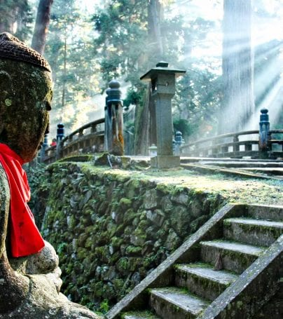 Okunoin Cemetary on Mount Koya, Japan