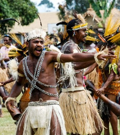 The Goroka show in Papua New Guinea