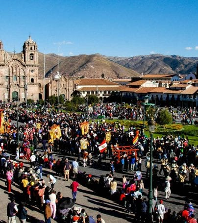 Festival in Cusco, Peru