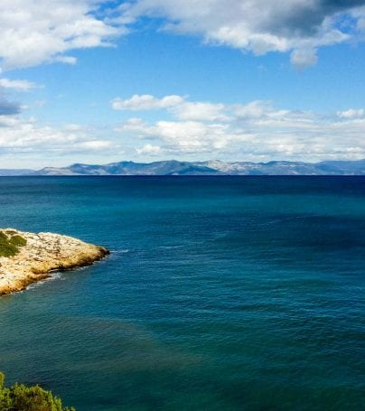 Coast of Rafina, Greece