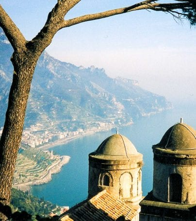 Coast of Ravello, Italy