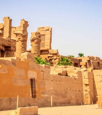 Ancient ruins in Luxor, Egypt