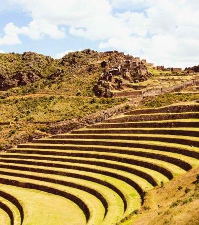 Ruins at Pisac, Peru
