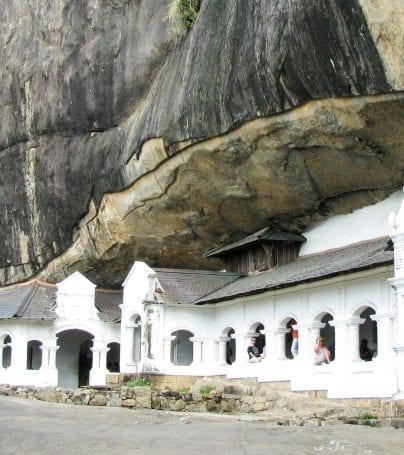 Dambulla in Sri Lanka