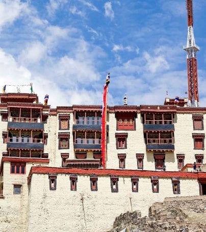 Stok Palace in Ladakh, India