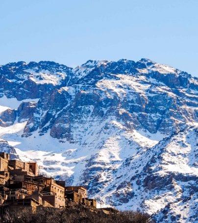 Toubkal Mountain, Morocco
