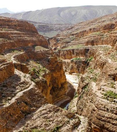 Mides Canyon, Tunisia