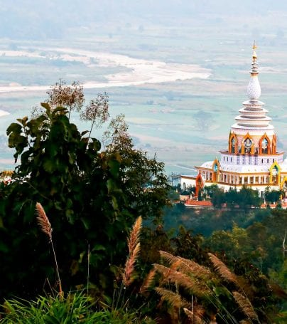 Wat Thaton temple in the Chiang Mai province of Thailand