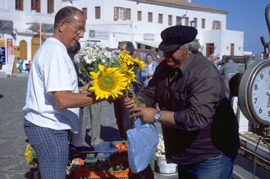 Experience local markets
