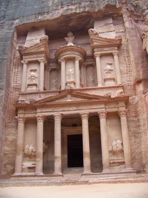 The iconic Treasury at Petra
