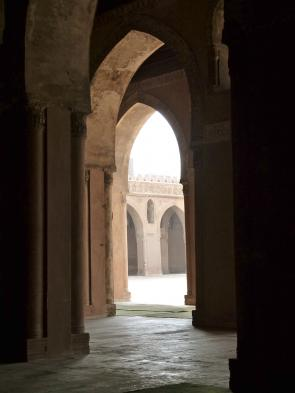 Experience the serenity of Ibn Tulun Mosque