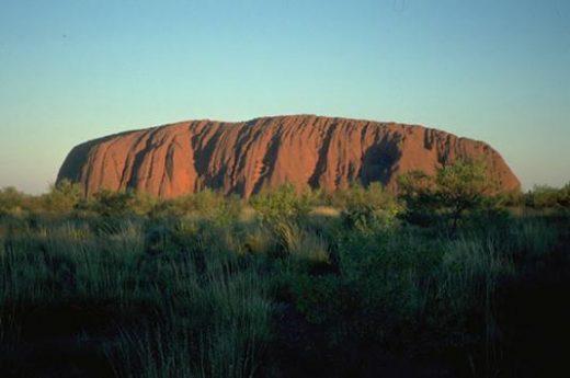 Uluru is a natural icon