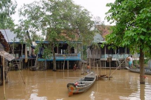 Pass through Mekong Delta villages