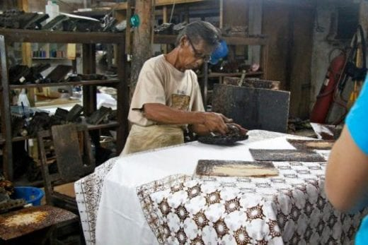 Batik is a beautiful art form in Indonesia (Photo by Edith Gralla)