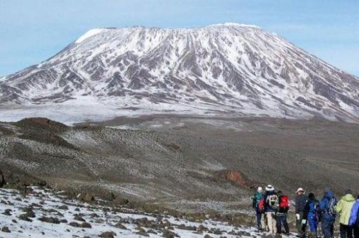 Head to Kilimanjaro