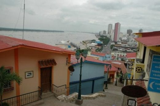 Guayaquil is a very colorful coastal city