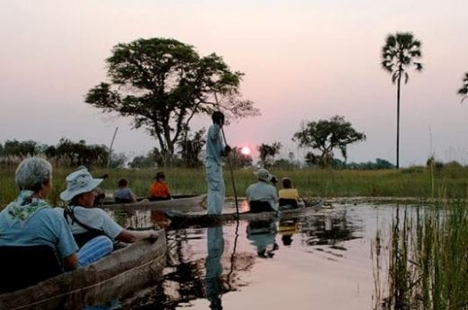 Float on the Okavango River