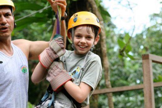 Ziplining adventure in Costa Rica